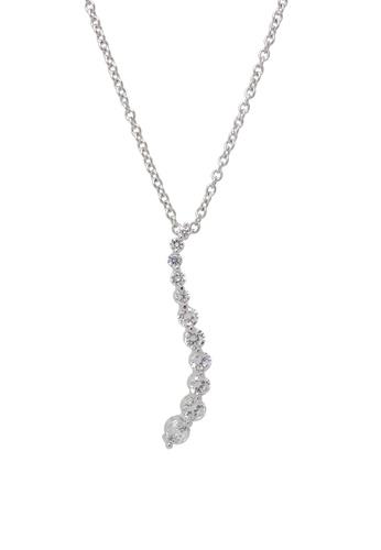 Jaysa Collection silver Starry Constellation Zirconias Necklace JA875AC0FVGSSG_1