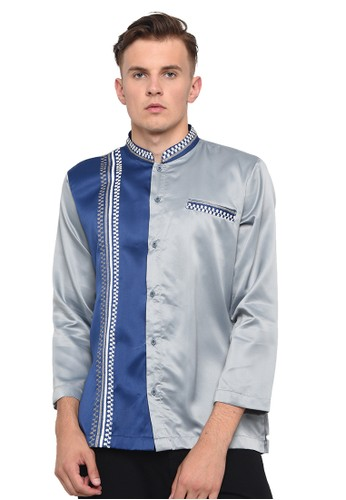 Java Seven Muslimwear black CBR SIX KOKO TANGAN PANJANG PRIA [MNC 979] - Hitam C565BAAED7EF5CGS_1
