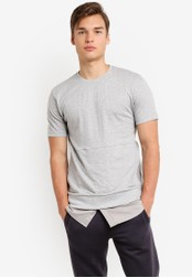 Indicode Jeans grey Tomas Cold Dyed Double Hemmed T-Shirt IN815AA61PTIMY_1