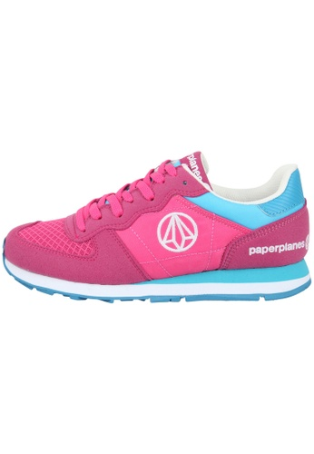 paperplanes Paperplanes-1142 Fashion Colorful Low Top Training Sneakers Shoes US Women Size PA110SH65ZMKHK_1