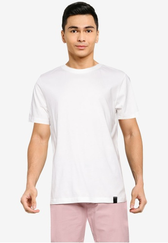 UniqTee white Sustainable Cotton T-Shirt 003CBAA4F98055GS_1
