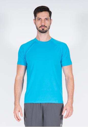 AMNIG blue Amnig Men Training Raglan T-Shirt (Atomic Blue) DDDABAA74293EAGS_1