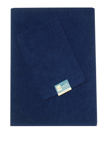Martel blue Martel Basic Sweat Towel 38154HL74A8149GS_1