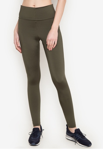 Lily of the Valley green Sports Leggings LI504AA0JR78PH_1