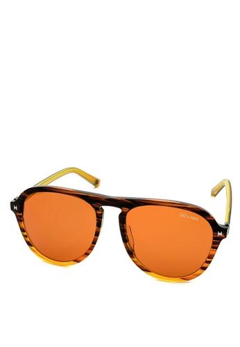 HEX EYEWEAR orange Explorer - Leif E. - Sunglasses - Italy Design HE671AC2V1LQHK_1