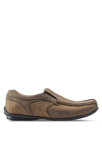 Louis Cuppers brown Classic Loafers LO977SH49ZKWMY_1
