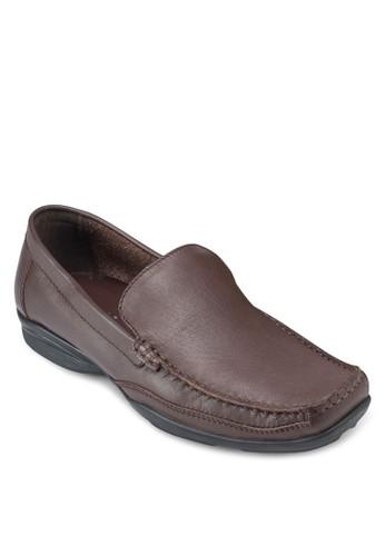 Auesprit 旺角stin 皮革方頭樂福鞋, 鞋, 鞋