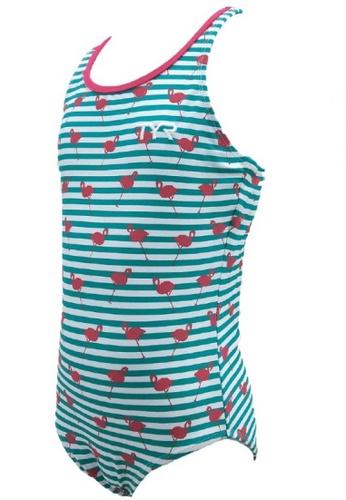 TYR green TYR Amber Girl Swim Suit 818B6KA4E59E18GS_1