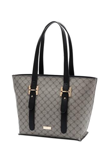 PLAYBOY BUNNY black Women's Tote Bag / Top Handle Bag / Hand Bag 49011AC7055278GS_1