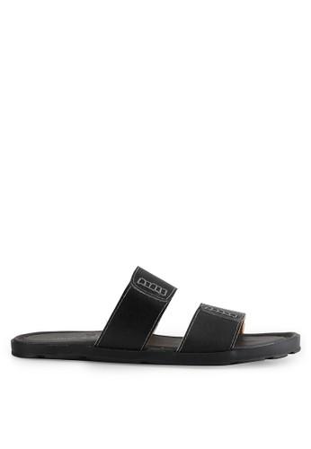 MARC & STUART Shoes black Sandal Herk 5 MA456SH0UU5XID_1