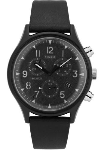 TIMEX black Timex TW2T29500 Originals Black 42 mm 3FEF9ACA2DFB22GS_1