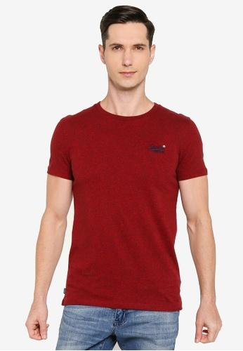 SUPERDRY 紅色 Organic Cotton Vintage Embroidery T-Shirt - Original & Vintage 4000CAA0D56801GS_1
