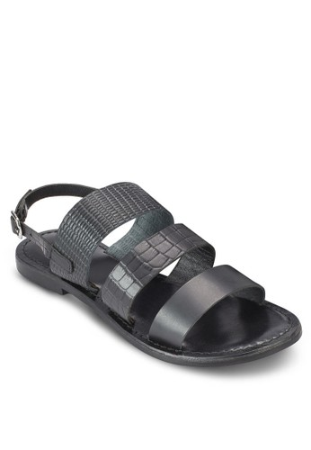 Blaisy 暗紋三寬帶涼鞋、 女鞋、 鞋GioseppoBlaisy暗紋三寬帶涼鞋最新折價