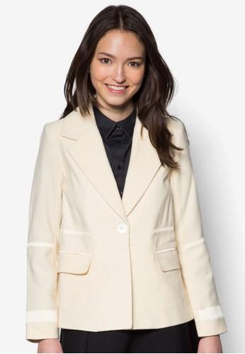 拼布西裝外套, 服esprit 價位飾, 外套