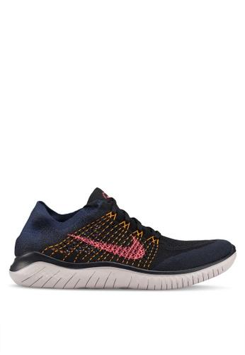 Nike blue Nike Free Rn Flyknit 2018 Shoes F089ASHD2A244DGS_1