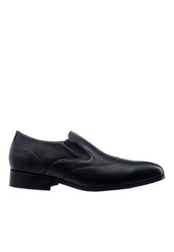 Obermain black Obermain Men's Advent Ryder Slip On Oxford Black DB38ESH796AFF6GS_1