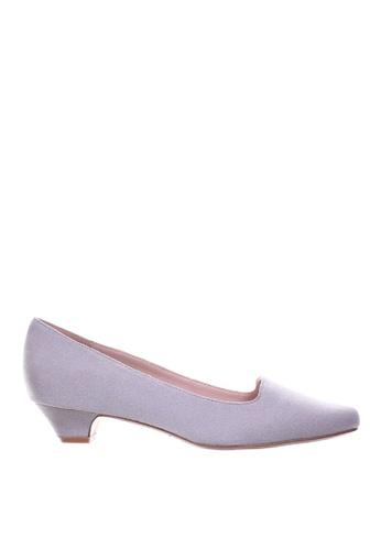 PRODUIT PARFAIT 灰色 尖頭高踭鞋 4F024SH8EC9EF1GS_1