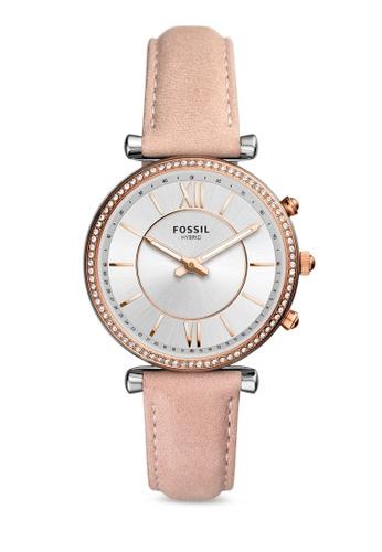 1eb60da4a Buy Fossil Carlie Hybrid Smartwatch FTW5039 Online on ZALORA Singapore