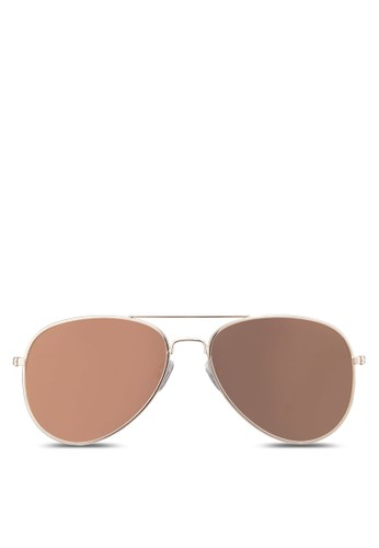 zalora鞋子評價飛行員太陽眼鏡, 飾品配件, 飾品配件