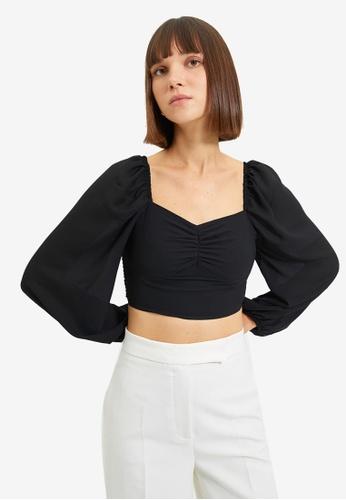 Trendyol black Black Blouse 6F55AAA9CEF7EDGS_1