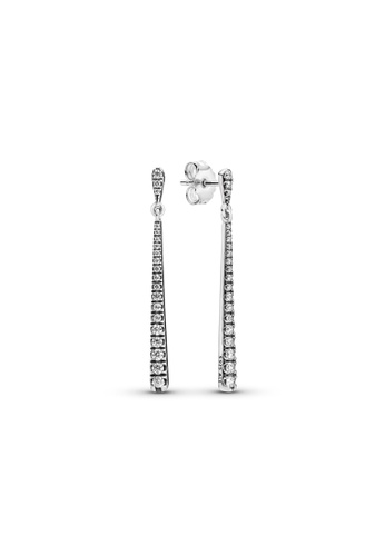 Pandora silver Pandora Sparkling Stones Hanging Earrings 76B22ACFF179D9GS_1