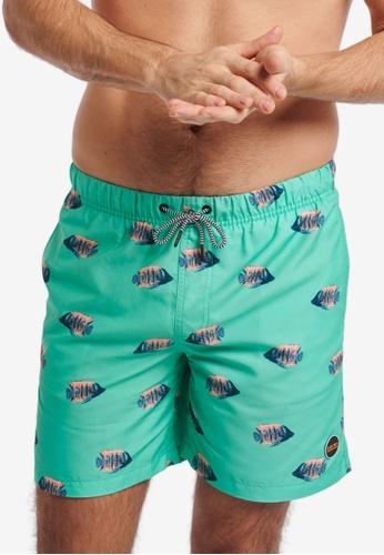 Shiwi 藍色 Moonfish 游泳短褲 097EFUS284A62BGS_1