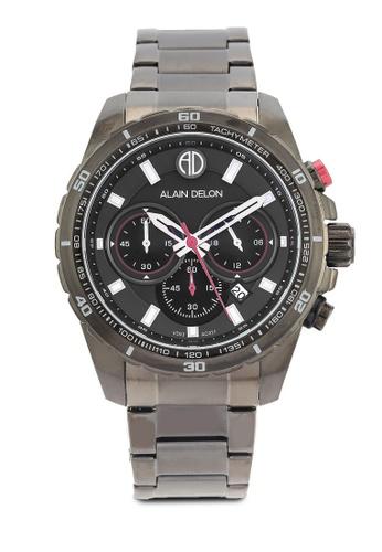 Alain Delon black Alain Delon AD357-1732C Black Watch AL308AC0RBDGMY_1