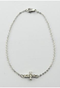 Dainty Cross Bracelet