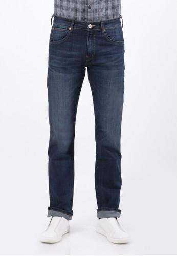 Wrangler blue Greensboro Jeans C01P20 32FA9AA9019CDEGS_1
