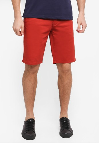 Fidelio orange Casual Chinos Shorts 16588AA35BEC54GS_1