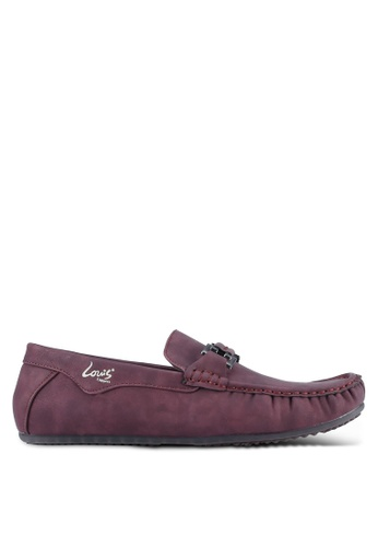Louis Cuppers red Casual Loafer LO977SH0S9RWMY_1