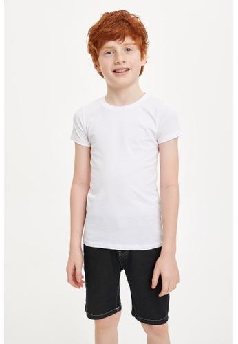 DeFacto white Boy Underwear Knitted Tops 04885KA2F1695EGS_1