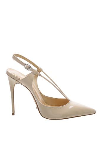 SCHUTZ 米褐色 SCHUTZ 搭帶高跟涼鞋 - ARIANA (米色) C9DC2SH0138B44GS_1