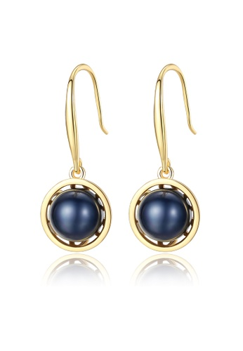 MATCH gold Luxuriouscolor Stone Fashion Earrings 09D90AC7B178ADGS_1