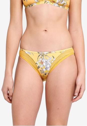 Seafolly yellow MIdsummer Hipster Bikini Bottom E9960US72C55A4GS_1