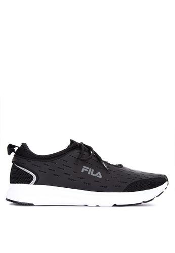 Fila black Gracias Running Shoes E99D5SH6188A26GS_1