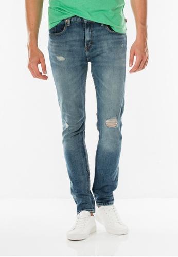 Levi's blue 512™ Slim Taper Fit Jeans LE843AA0FJYJSG_1