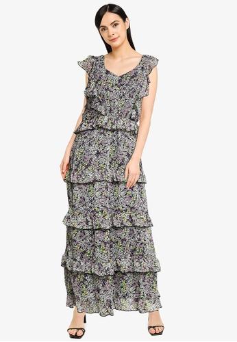 JACQUELINE DE YONG multi Larisa Maxi Dress F8FBAAAC7BA7D6GS_1