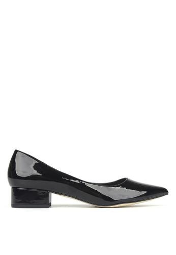 Betts black Impulse Pointed Toe Block Heel Pumps 1E3FASH158824CGS_1