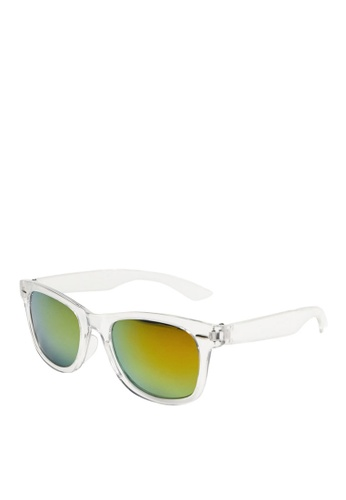 MANGO KIDS grey Clear Frame Sunglasses 5DB69KC0D24E8CGS_1