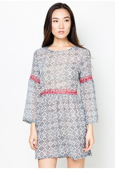 Sayen Peasant Dress