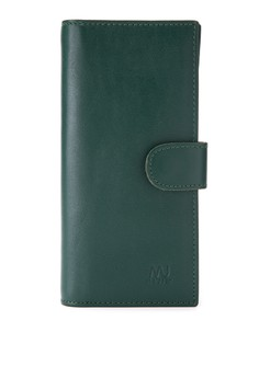Tab-Cluch Leather Long Wallet