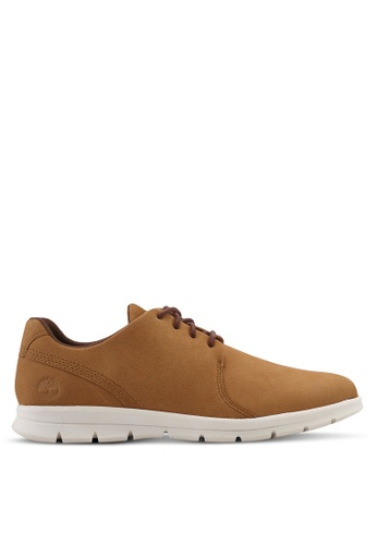 Timberland brown Graydon Hoverlite Oxford Sneakers 8809ESH910BDABGS_1