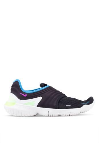 Nike black Nike Free Rn Flyknit 3.0 Shoes E8240SH96505E3GS_1