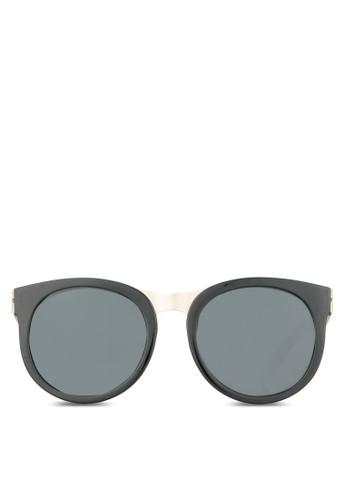 Fralilla 復古太陽眼鏡, 飾品配件,zalora 順豐 飾品配件