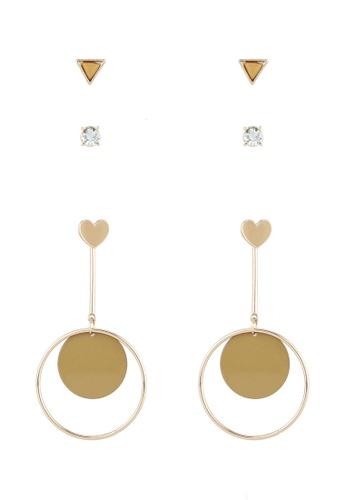 Dandelion brown Renie Earrings DA944AC0ROO1MY_1