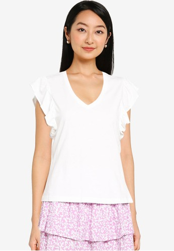 ONLY white Lucilla Top 2F6A4AAAE1B102GS_1