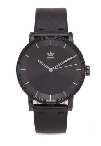adidas black adidas originals District L1 Watch 8A983AC86F64CEGS_1
