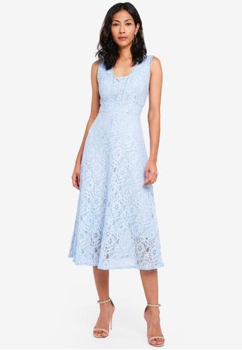 TFNC blue Majorelle Dress 7A7C0AA73CFF5AGS_1