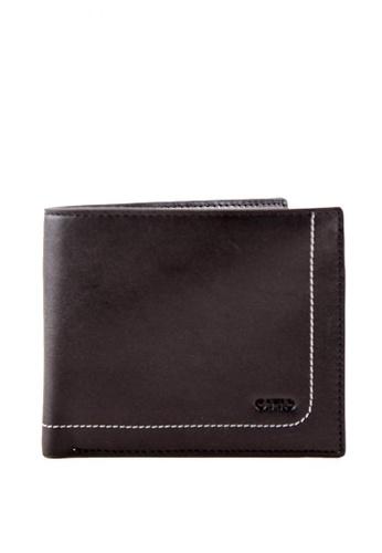 Otto black Men's Bifold Wallet C9493ACD5C463CGS_1